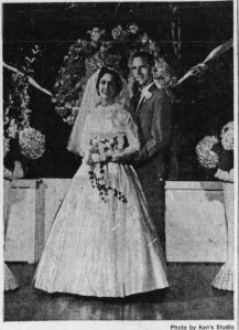 mom and dad wedding photo