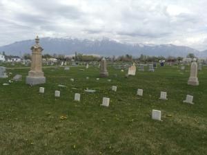 Skeen Family burial pllot