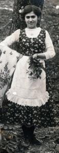 Rosa Daniel as a child