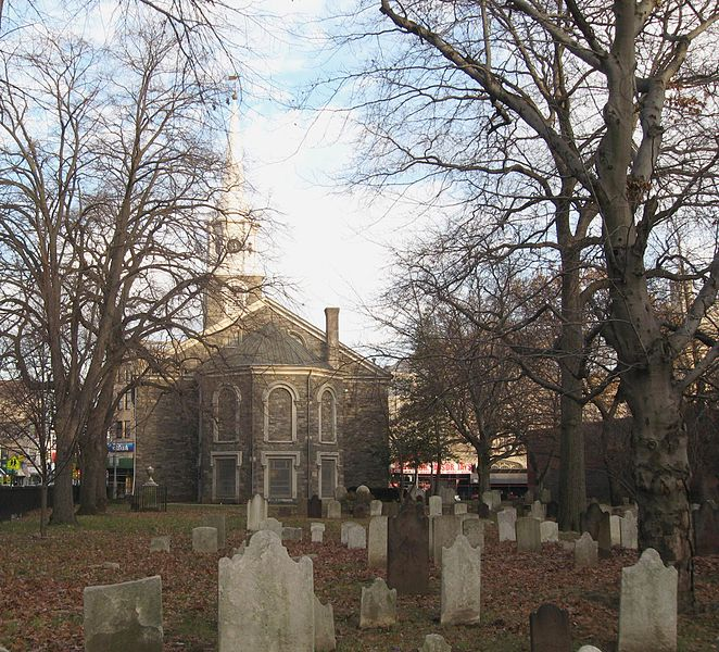Flatbush Dutch Reformed Church and graveyard