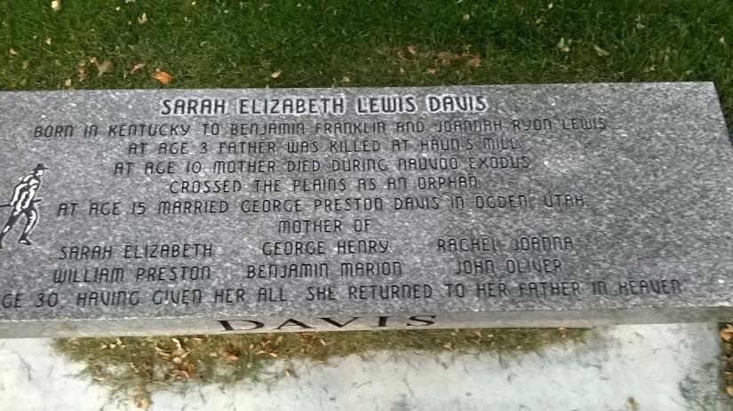 Sarah Elizabeth Davis