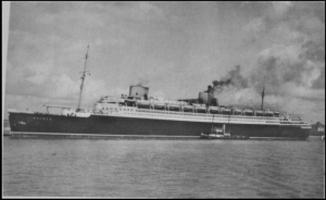 Bremen--the ship that carried Tante Leni to safety in August of 1939.