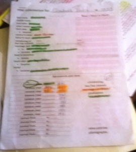 I highlighted what I already knew in green, and what I found in orange.