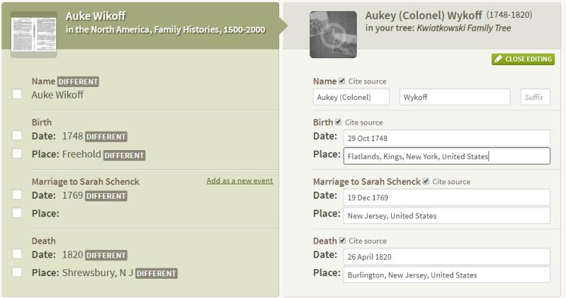 Auke Wikoff Ancestry comparison