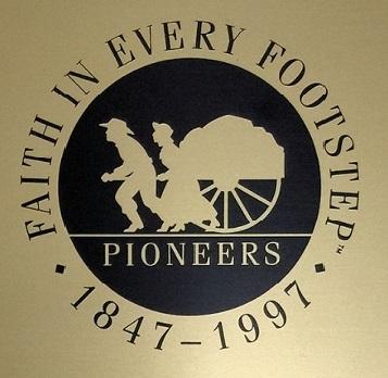 Utah pioneer grave marker courtesy of Sons of Utah Pioneers