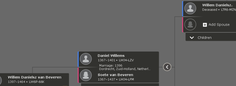 1350 changing Dutch surnames