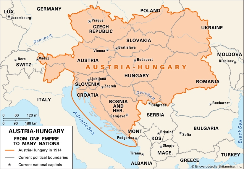 Austria-Hungary, 1914. Encyclopædia Britannica.jpg