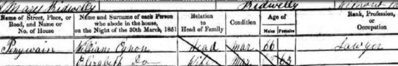 1851-census-william-eynon-and-elizabeth-thomas