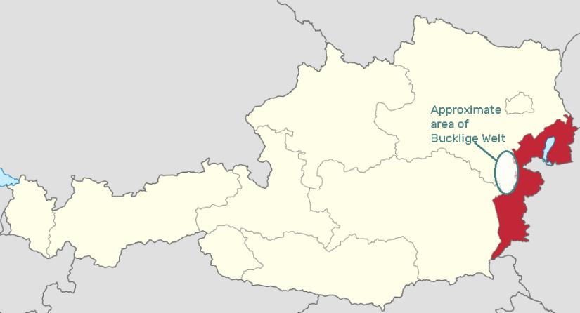 Bucklige Welt and Burgenland Austria