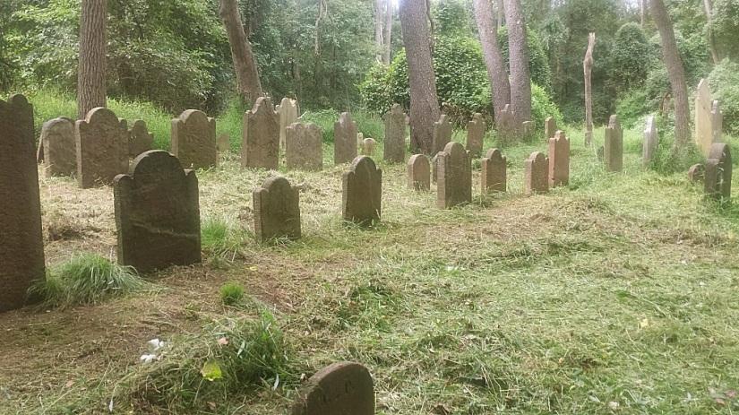 Polhemus Family Cemetery by Ron Bennett